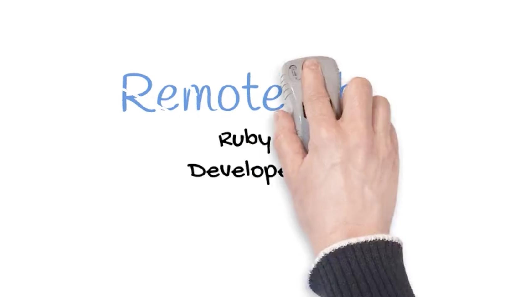 (video vacancy) Ruby Developer – Kyiv, Ukraine – REMOTE